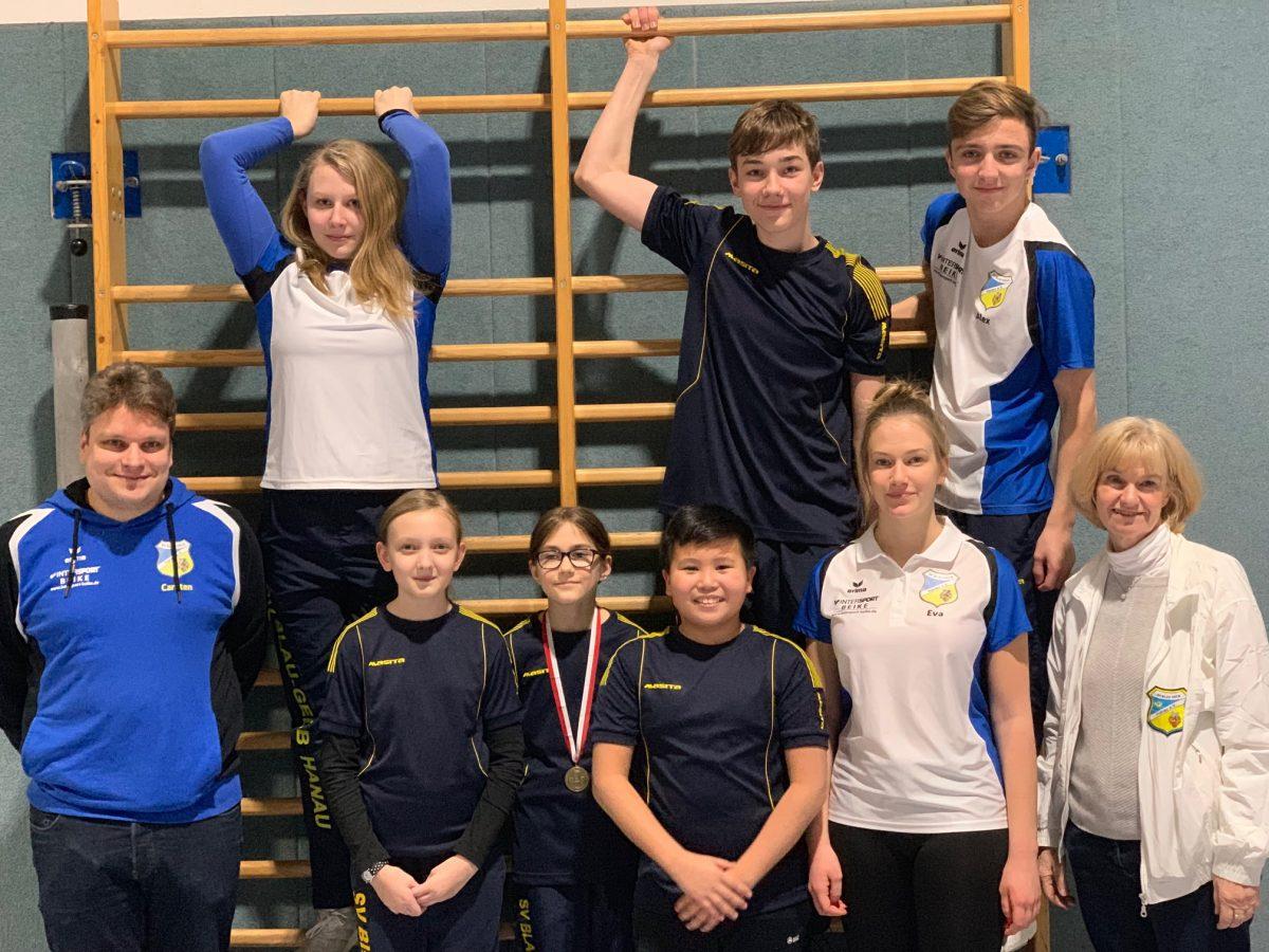 Medaillensegen für Hanau bei der Landesmeisterschaft